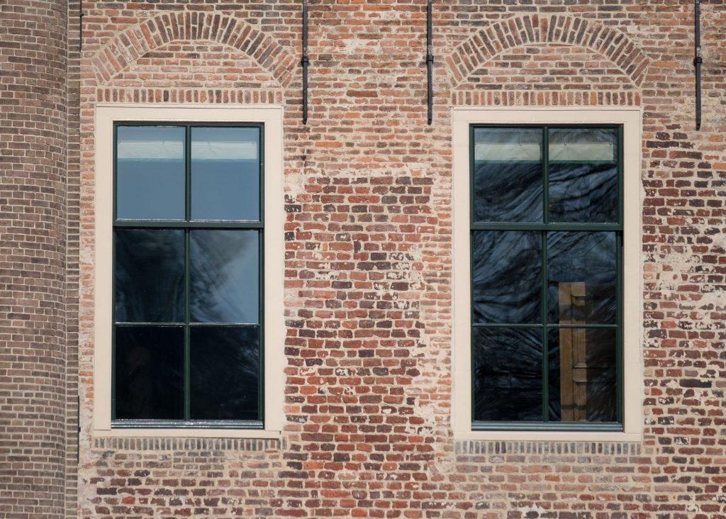 Historisch glas met de eisen en het comfort van nu
